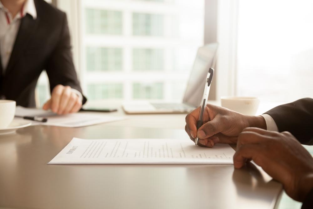 4° passo – Assinatura do contrato ICC , assinatura contrato NCMDA (caso necessário)