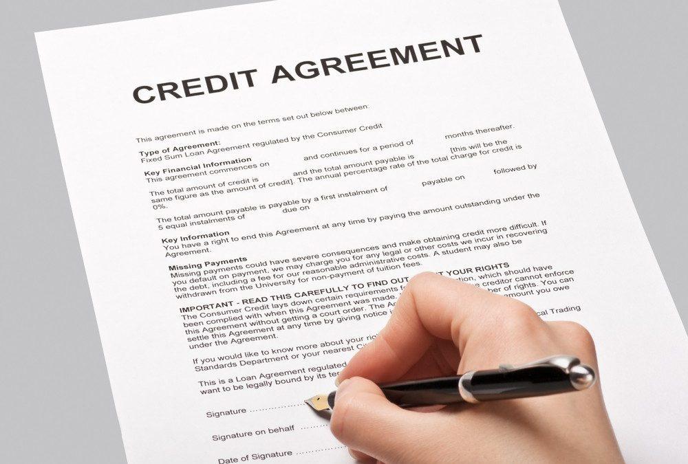 5° passo – abertura da carta de crédito oficial